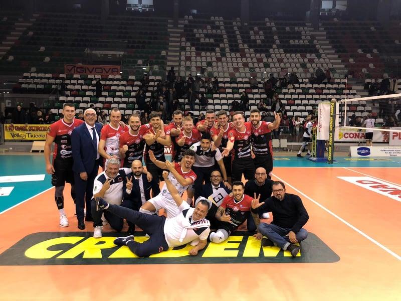 Sports - 18/11/2019 - Volley: a Reggio Emilia 2 punti d'oro per la Rinascita Lagonegro - La Siritide