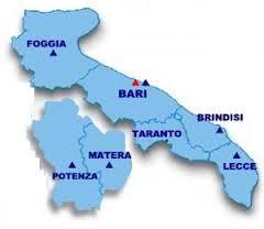 Basilicata Cartina Confini.Puglia E Basilicata Addio Si Pensa Alle Regioni Di Levante E Di Ponente